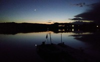 徳良湖の、風景です。