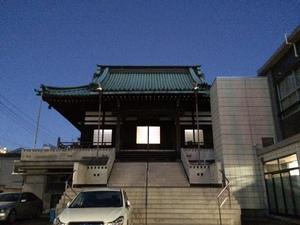 東京スカイツリーと酒井家菩提寺