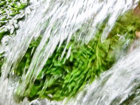 一月の胴腹の滝