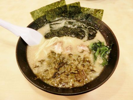 東京みそ高菜ラーメン♪