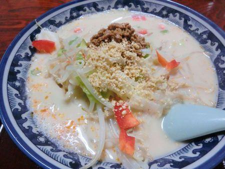豆乳ラーメン(醤油味)♪