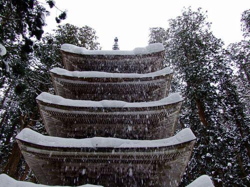 五重塔雪景色☆