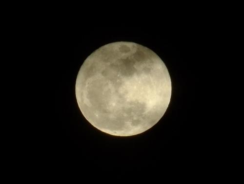 立春満月♪