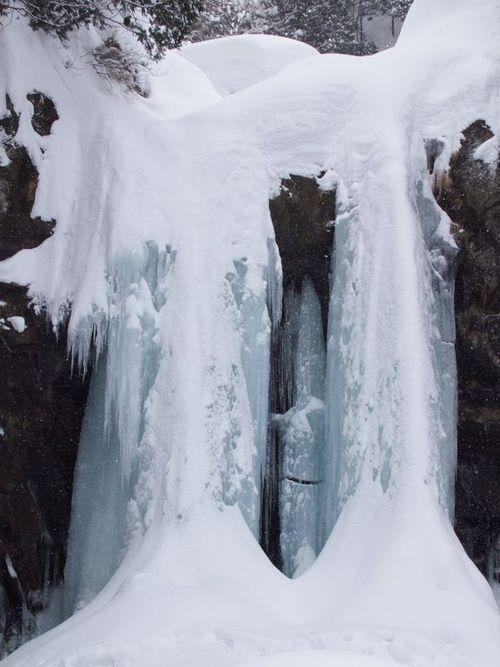 二の滝への道☆