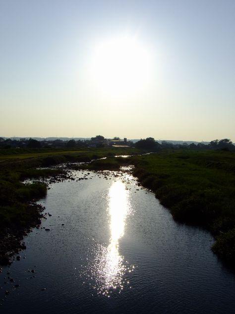 立秋夕景鳥海山