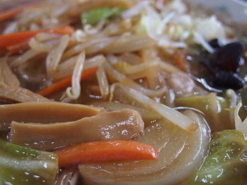 いろは食堂さんの野菜中華