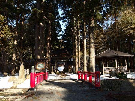 2月下旬の玉川寺