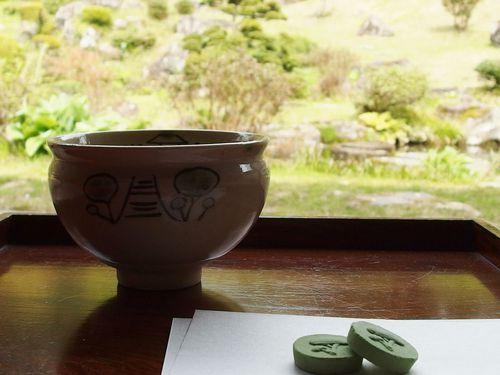 お抹茶と干菓子♪