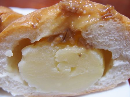 じゃがバターフランスしょうゆの実のせ♪