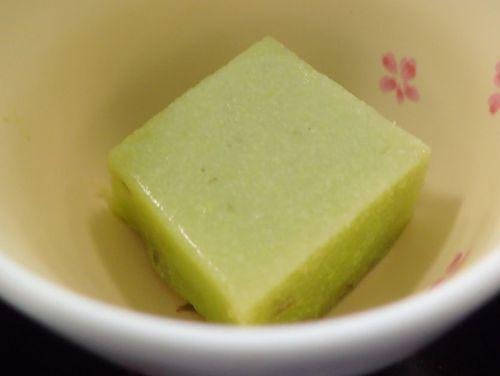 豆乳スープ餃子定食