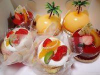 夏のケーキ♪