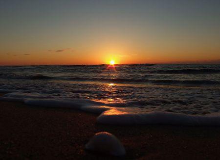 11月12日の夕陽