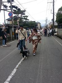 大山犬祭り 初の試み!!