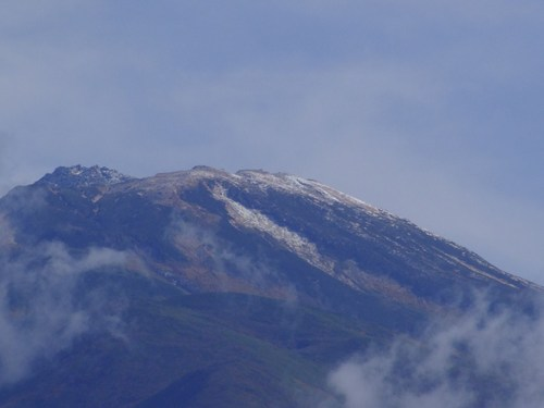 山頂が・・・