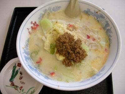 豆乳ラーメン(塩味)