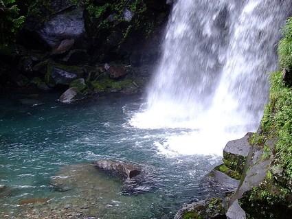 一の滝、二の滝