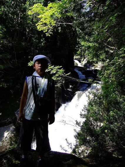 二の滝そして三の滝