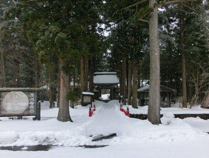 雪の玉川寺