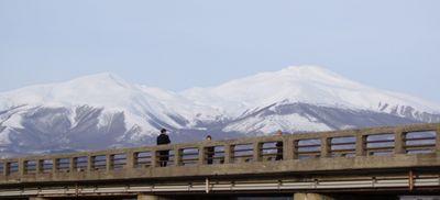 今日の旧朝日橋