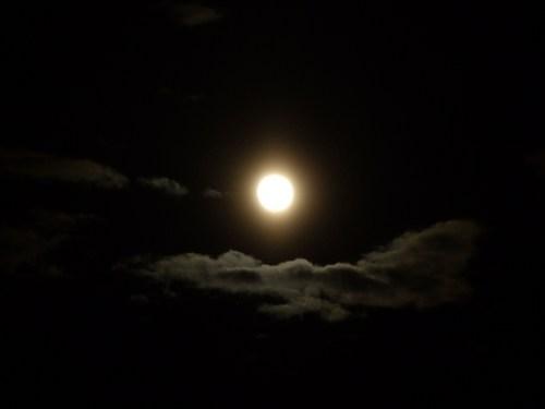 月影の鳥海