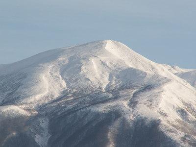 今朝の鳥海山