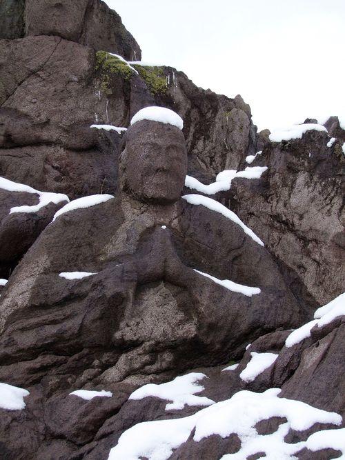 十六羅漢雪景色