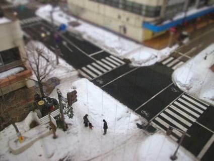 ジオラマ風~カメラで遊ぼう①~