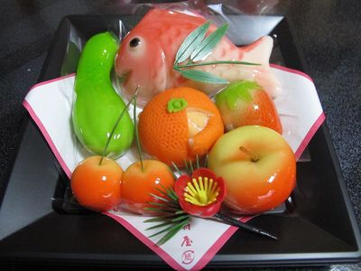 鶴岡木村屋さんの雛菓子