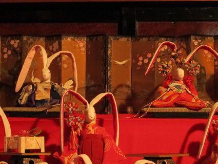 旧青山本邸ひな祭り