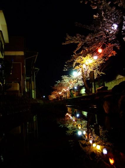 月下水鏡夜桜散歩 ~私的遊佐桜めぐり ①~