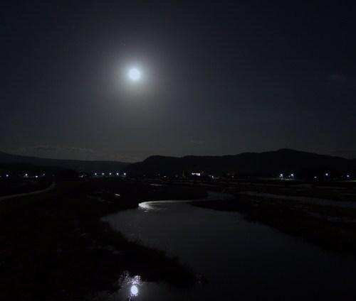 月光の月光川
