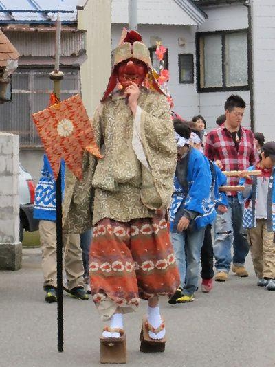 春祭り天狗