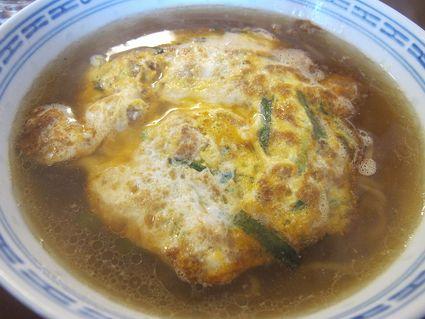 香港會食 海鮮楼さんの天津ラーメン