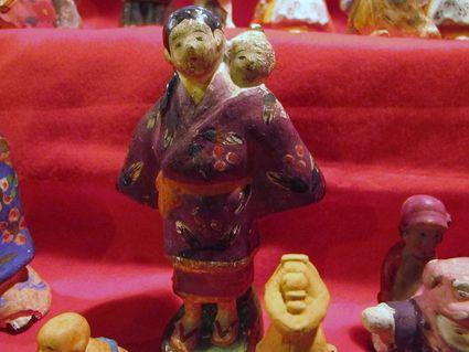 旧阿部家の雛人形