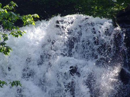 奈曾の白滝の初夏