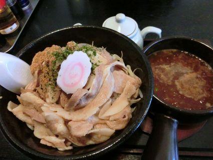 ガッツリ・魚介豚骨つけ麺