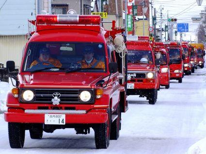 消防出初式'13