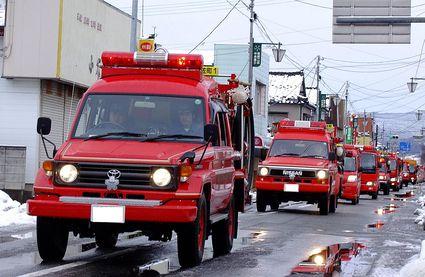 消防出初式'11