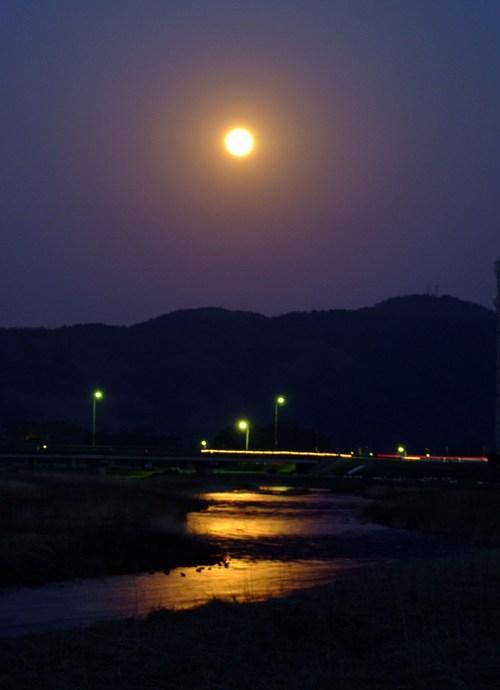 赤い月・赤い川 ~月光の月光川 2~