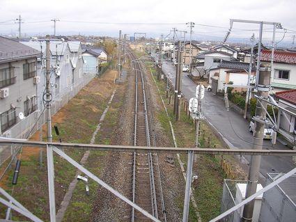 鶴岡跨線橋