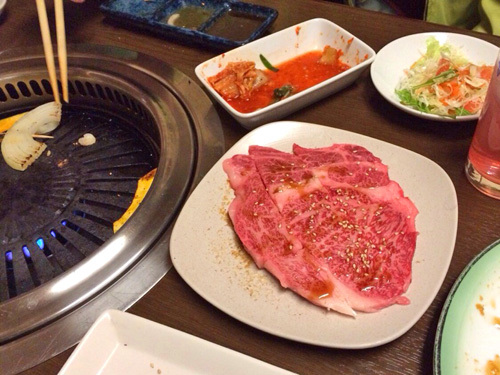 酒田「とがし肉家」牛肉