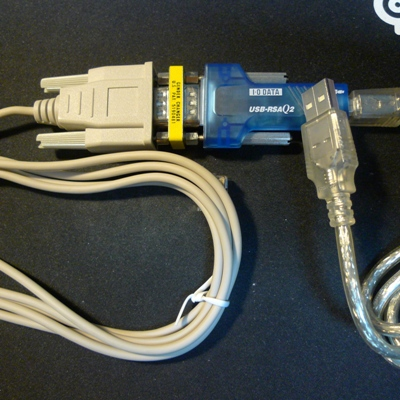シリアル-USB