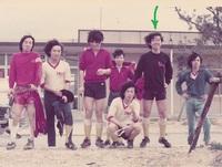 サッカー部の頃