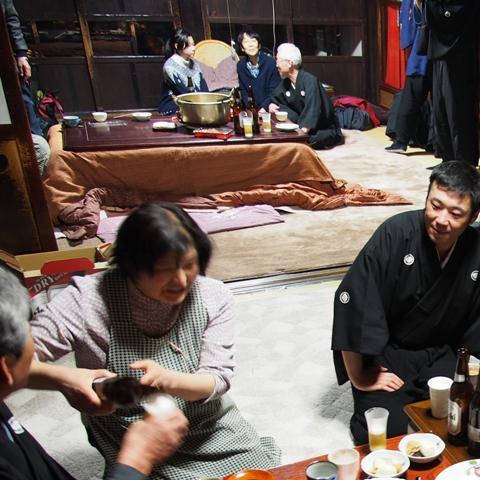 黒川能 第22回 蝋燭能 交流会