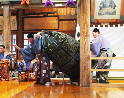 黒川能 平成27年 例大祭 下座