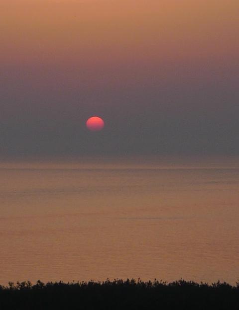『GW旅 日本海の夕日』