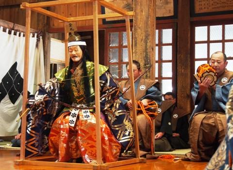 黒川能 平成27年 例大祭 上座
