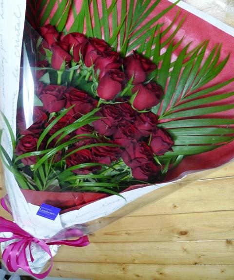 誕生日の薔薇