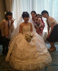 長女の結婚式