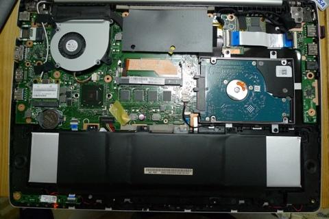 ノートPC バッテリー交換